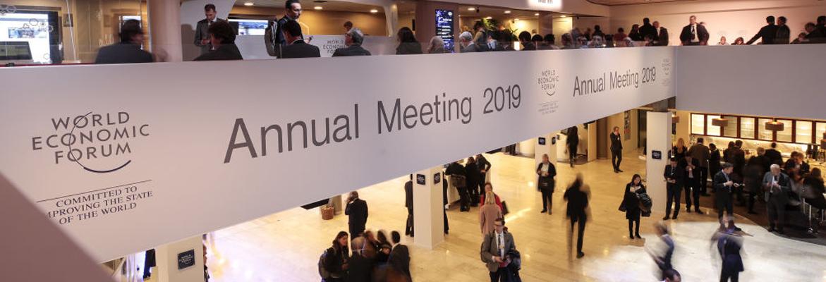 Le Forum économique mondial de Davos 2019